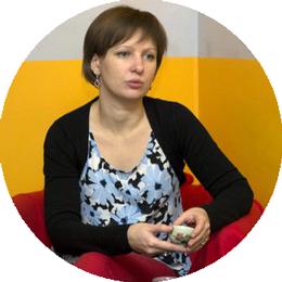 Екатерина Сергеевна Бутакова, психолог, гештальт-терапевт, телесный терапевт. Руководитель центра 8 перемен.